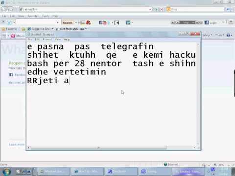 Albania hacker ne telegraf