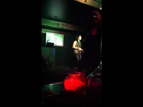 Karaoke night in FM, London