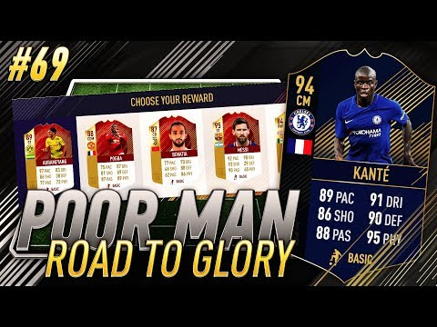NEW FUT CHAMPIONS MONTHLY REWARD STRUCTURE?! TOTY KANTE? - Poor Man RTG #69 - FIFA 18 Ultimate Team