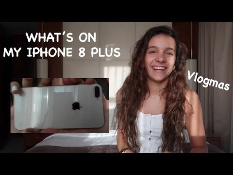 WHAT'S ON MY IPHONE 8 PLUS || Iris Ferrari