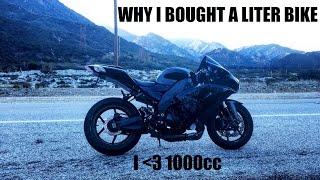Why I Chose A Liter Bike (1000cc) Kawasaki Ninja ZX10R