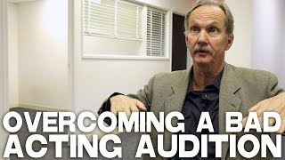 Overcoming A Bad Acting Audition by Michael O'Neill
