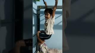 Kid learning to climb Monkey Ladder - 4 | #shorts | Monkey Ladder | Kids videos | Funny kids videos