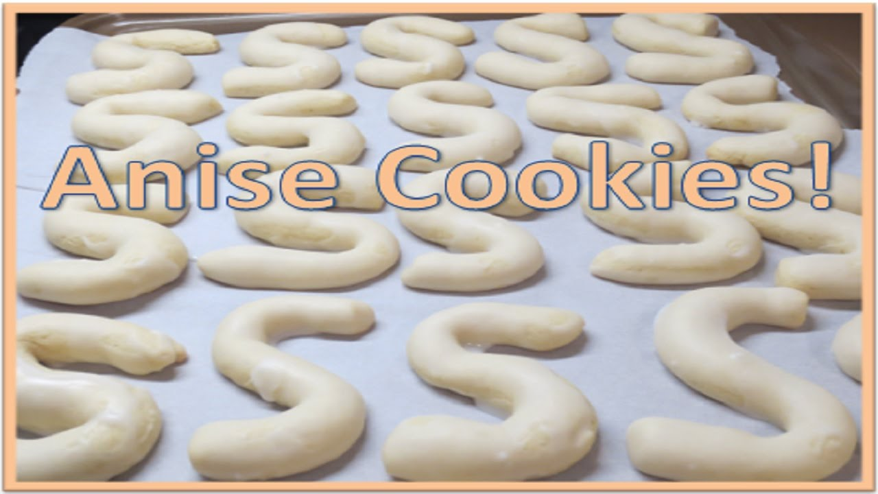 Anise Cookie Recipe aka Grandma\'s Cookies! - YouTube