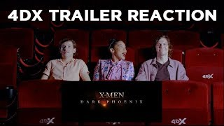 X-Men cast react to Dark Phoenix trailer in 4DX | Trailer Reaction