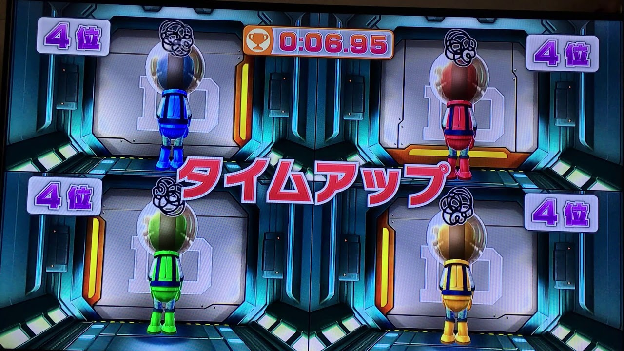 Wiiパーティ U ミニゲーム 引き分け集 / WiiParty U Mini game ties