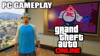 GTA 5 PC Gameplay ONLINE! Hacker? First Impressions & Updates! (GTA 5 Online PC Gameplay)