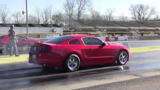2013 Mustang GT N/A Auto - 11.4@117.25 1/4 Mile Pass