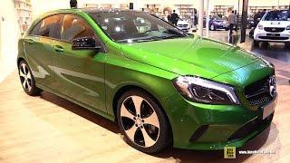 2016 mercedes a class a160 exterior and interior walkaround 2015 frankfurt motor show