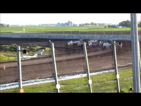 6-15-13 sport modified at Arlington Raceway, MN