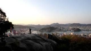 NHK連続テレビ小説「てっぱん」のテーマ「ひまわり」の尾道で演奏第2弾...