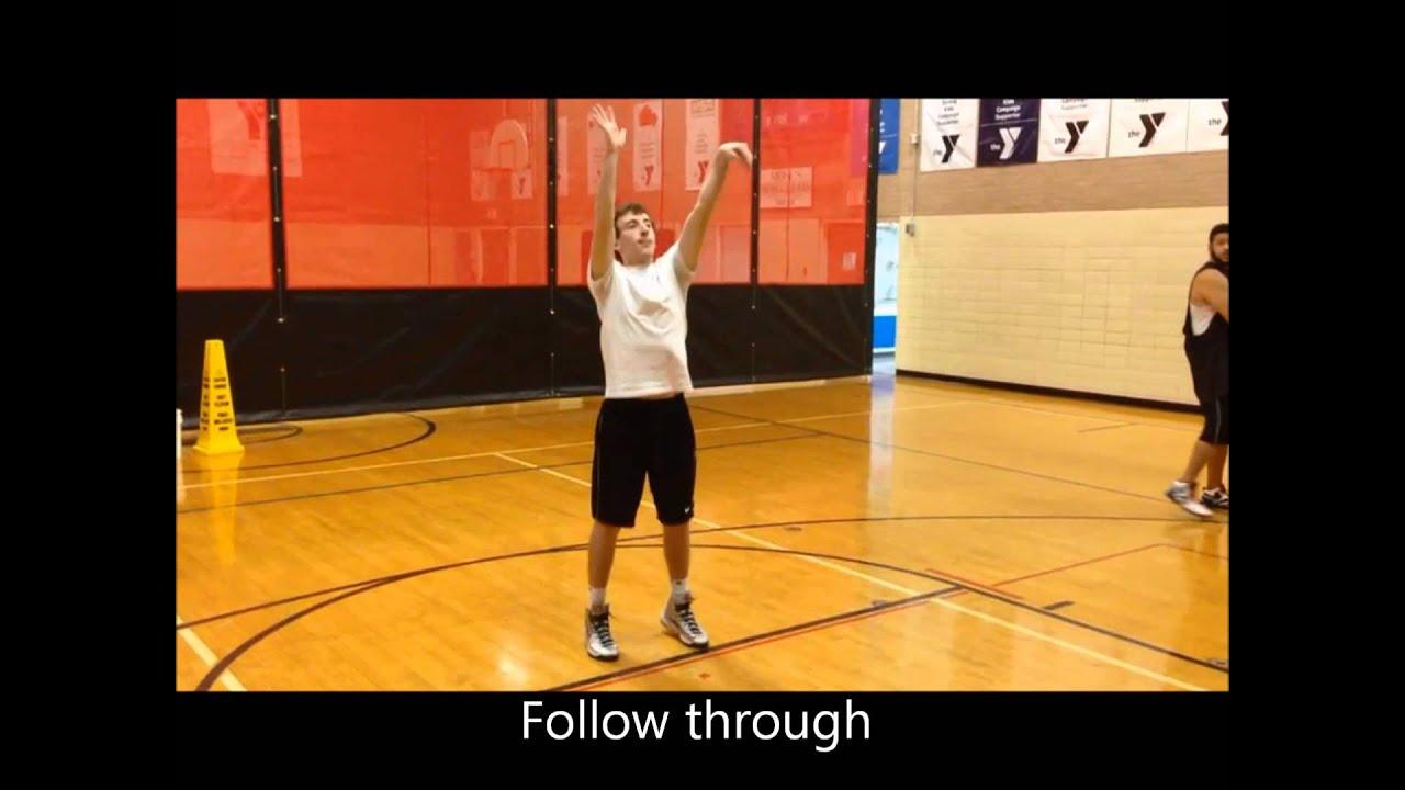 Form shooting using the B.E.E.F. technique - YouTube