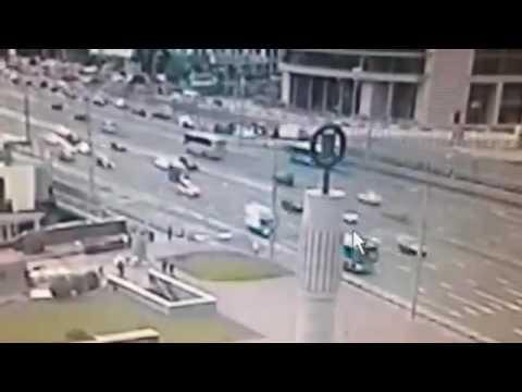 Автомобиль BMW Минобороны РФ в Москве насмерть сбил пешехода. Новости сегодня 22.07.2016