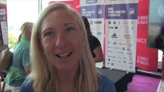 Eva Vrabcová Nývltová před Birell Grand Prix