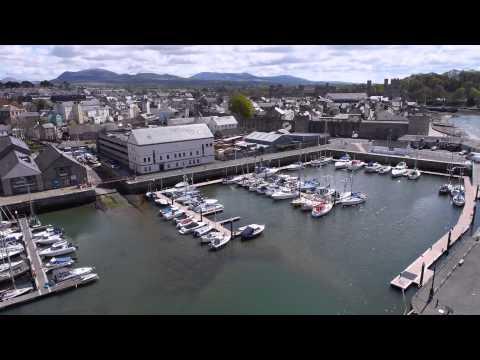 OffTheGround.tv - Victoria Dock, Caernarfon.
