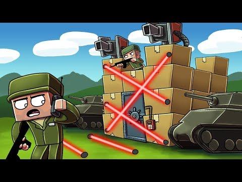 Minecraft | ULTIMATE BOX FORT DEFENSE CHALLENGE! (Box Fort vs Box Fort)