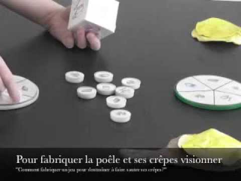 jeu enfant pour la chandeleur fabriquer youtube. Black Bedroom Furniture Sets. Home Design Ideas