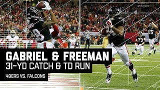 Taylor Gabriel's 31-Yard Catch & Run Sets Up Freeman's 3rd TD! | NFL Week 15 Highlights