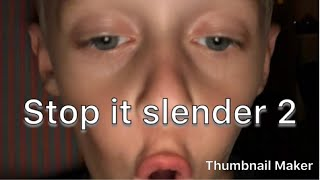 Carson Cam | Roblox | Stop is slender! #1