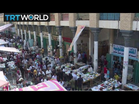 Baghdad Cafe: Artists and residents find haven amid violence