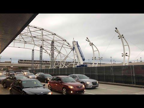 ATL NEXT Atlanta Airport Canopy Under Constrution At North Terminal