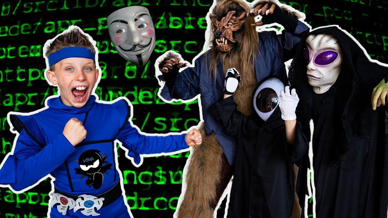 Paxton ESCAPE HACKER VR World! Ninja Kidz watch and download videoi make live statistics