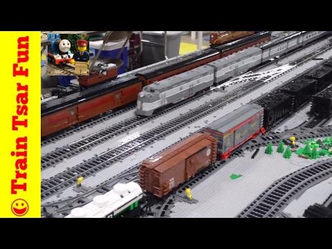 Realistic LEGO Trains PennLUG at PBF 2017