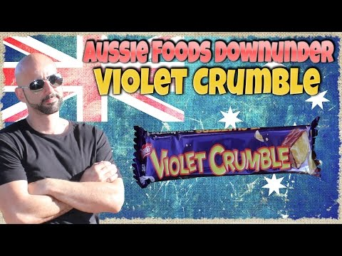 Violet Crumble  Australian Review - Aussie Foods Down