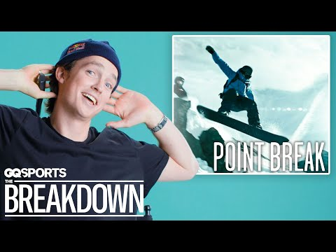 Pro Snowboarder Breaks Down Snowboarding Scenes from Movies | GQ Sports