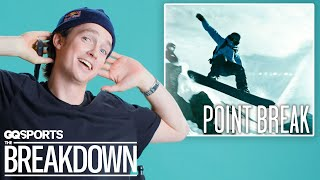 Pro Snowboarder Scotty James Breaks Down Snowboarding Scenes from Movies | GQ Sports