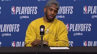 Chris Paul Postgame Interview - Game 6 | Warriors vs Rockets | 2019 NBA Playoffs