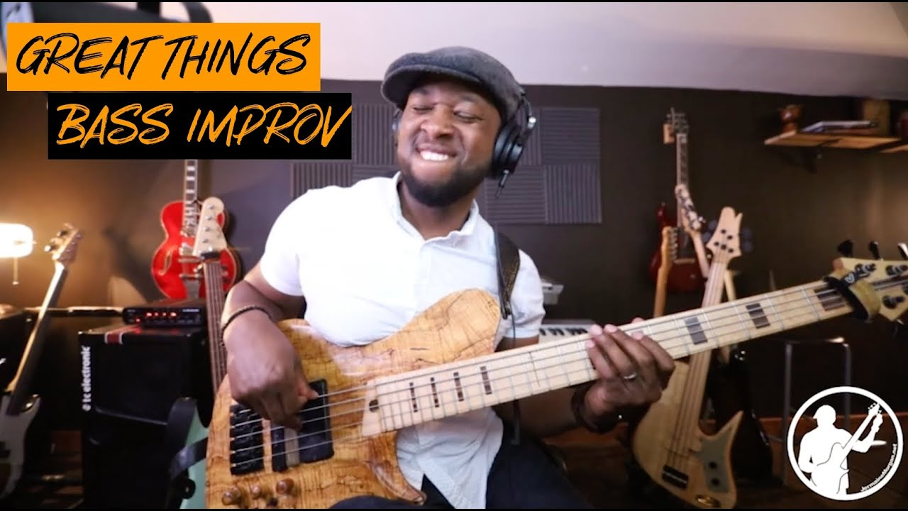 Great things bass improv | @RICKYDILLARDTV Great Things