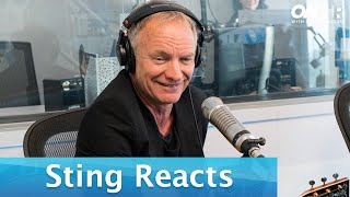 "Sting Reacts to Arizona Zervas' ""Roxanne"" 