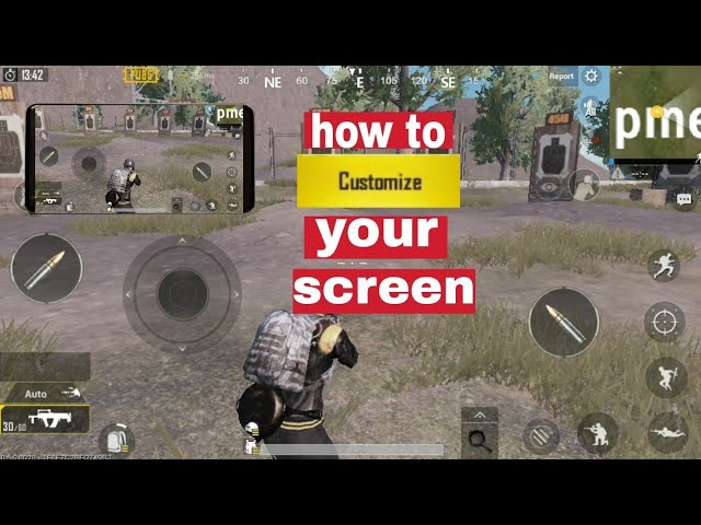 PUBG MOBILE | How to customise your play screen