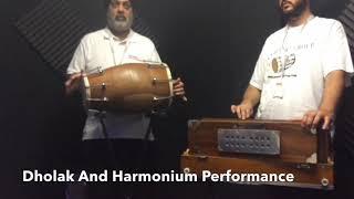 Dholak and Harmonium Performance