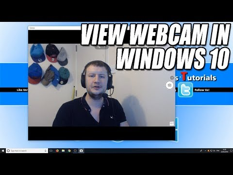 How To Turn On Webcam & Camera In Windows 10 Tutorial