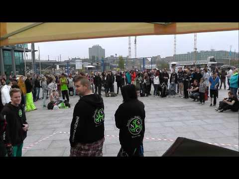 hardnight meets jump-/shuffle meetup hauptbahnhof berlin 12.10