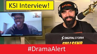 KSI__INTERVIEW!__#DramaAlert__-__(_Logan_Paul_is_MAD!)