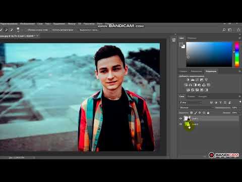 Как вырезать и перенести объект в Photoshope CC 2018