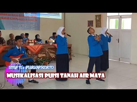 MUSIKALISASI PUISI TANAH AIR MATA || SMP N 2 PURWOKERTO