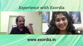 My Journey with Exordia | Vijayanti Margassery | Facebook Live