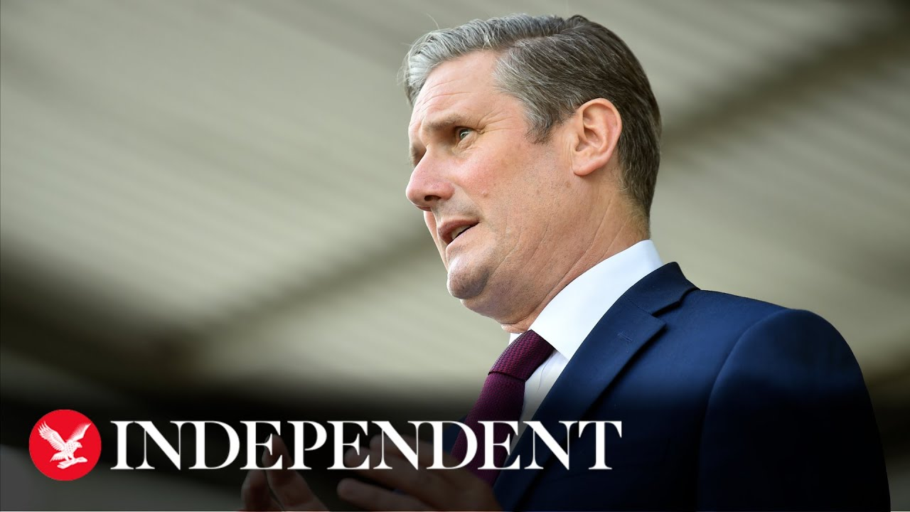 Government must fix test and trace before schools reopen next month, says Keir Starmer