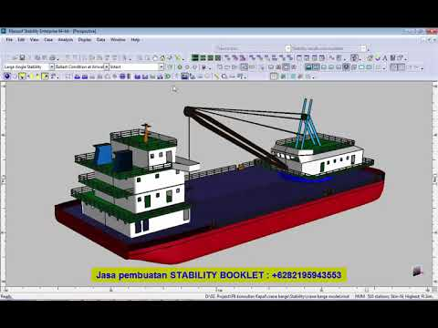Trim & Stability  Calculation - Stability Booklet - Self Propelled Crane Barge