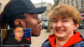 MINIMINTER REACTS TO TOMMYINNIT MEETING KSI & VIKKSTAR!
