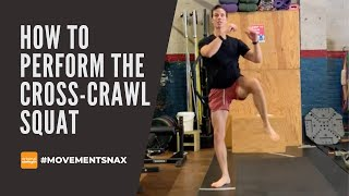 How to Perform The Cross-Crawl Squat for Speed and Power