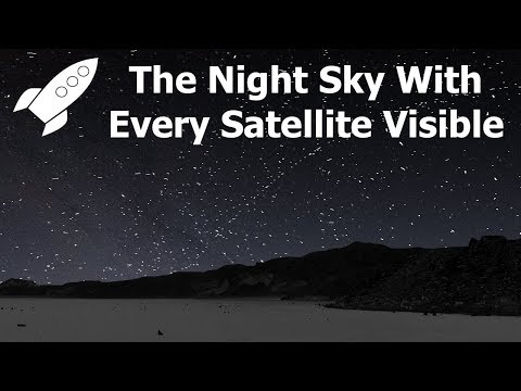 The Love Doctors - 360 Degree View Of Night Sky If Every Satellite Was Visible