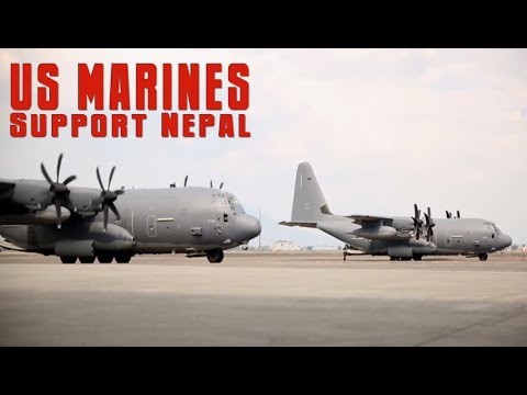 U S  Marines Arrive to Support Nepal
