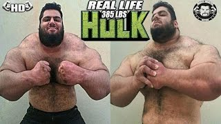 the real life 385 pounds hulk biggest man you ll ever see