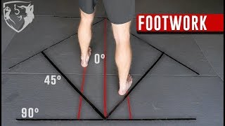 Fighting Footwork: Floor Diagram for MMA