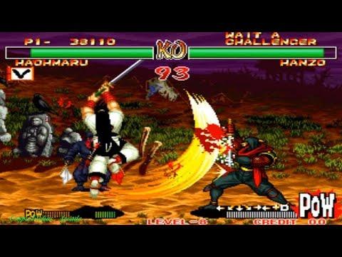 Samurai Shodown II - Haohmaru (Arcade) Level 8